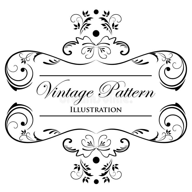 Elemento del diseño en un fondo blanco libre illustration