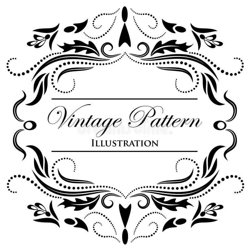 Elemento del diseño en un fondo blanco stock de ilustración