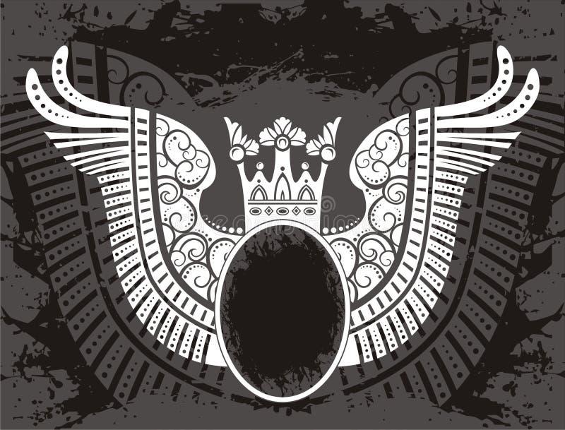 Elemento del emblema stock de ilustración