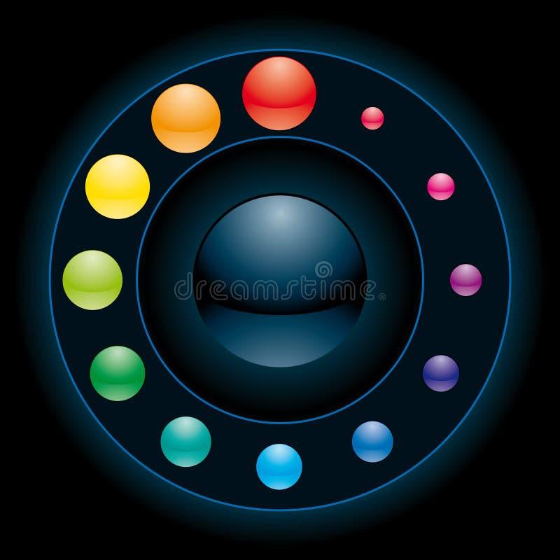 Elemento del interfaz ilustración del vector