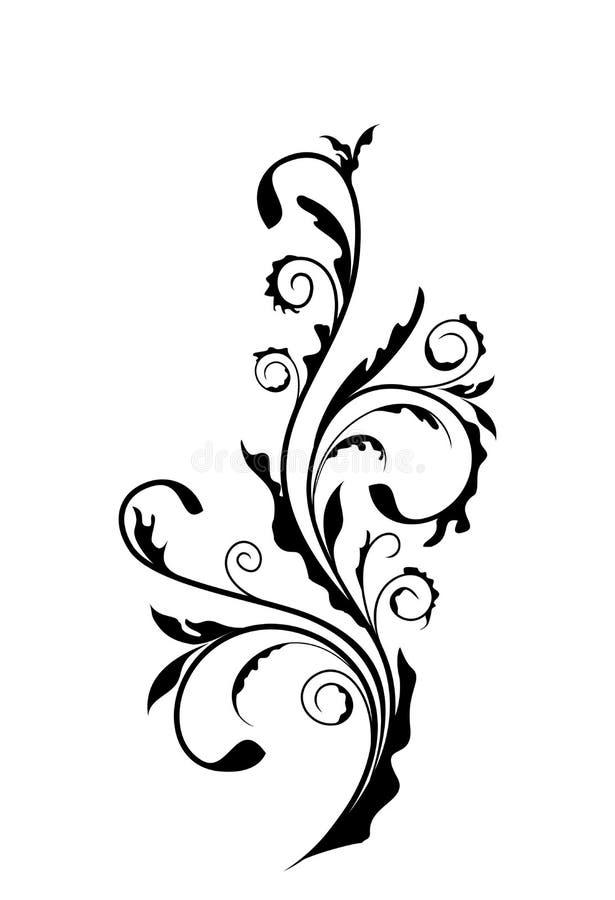 Elemento dell'annata per il disegno illustrazione vettoriale