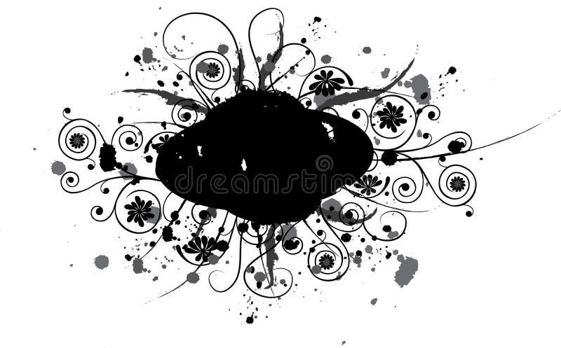 Elemento di Grunge per il disegno, vettore illustrazione vettoriale