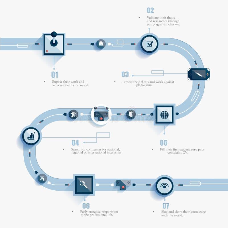 Elemento di infographics di vettore royalty illustrazione gratis