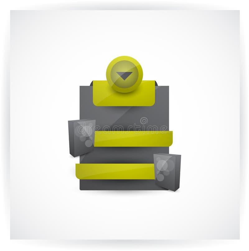 Elemento di vendita del prodotto di Web fotografia stock libera da diritti