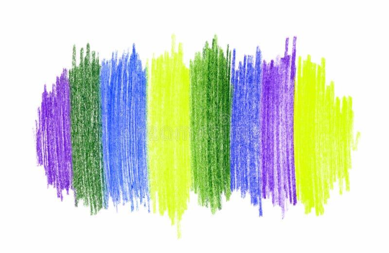 Elemento dibujado mano abstracta del diseño stock de ilustración
