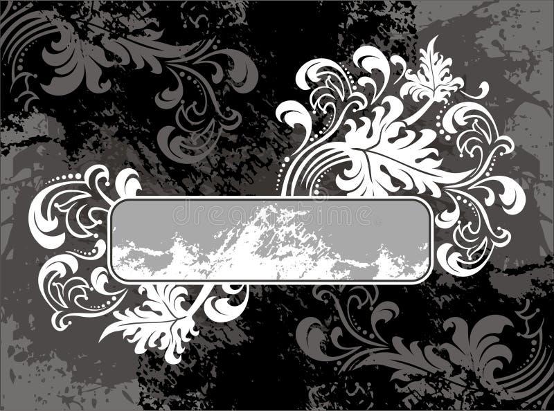 Elemento do emblema ilustração stock