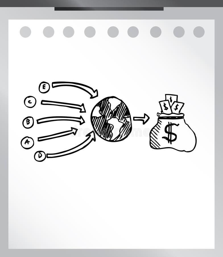 Elemento do negócio ilustração do vetor