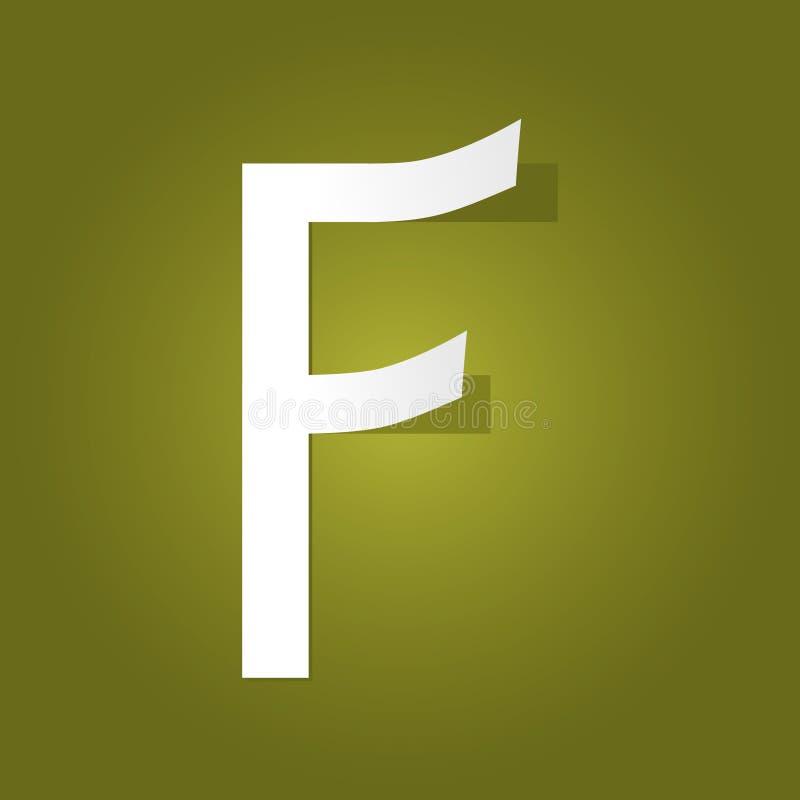 Elemento do projeto do logotipo do Typography ilustração do vetor