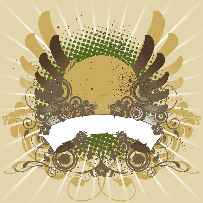 Elemento do projeto, emblema ilustração do vetor