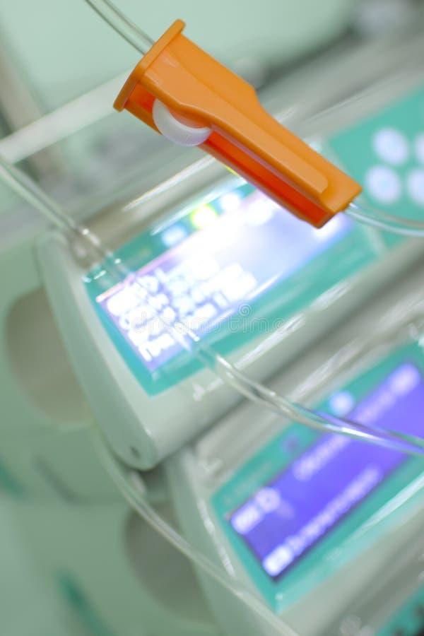 Elemento do sistema intravenoso imagem de stock