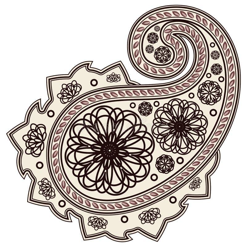 Elemento floral. ilustração royalty free