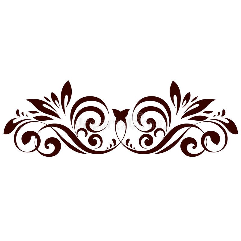 Elemento floreale royalty illustrazione gratis