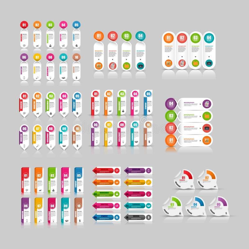 Elemento infographic di affari moderni e creativi royalty illustrazione gratis