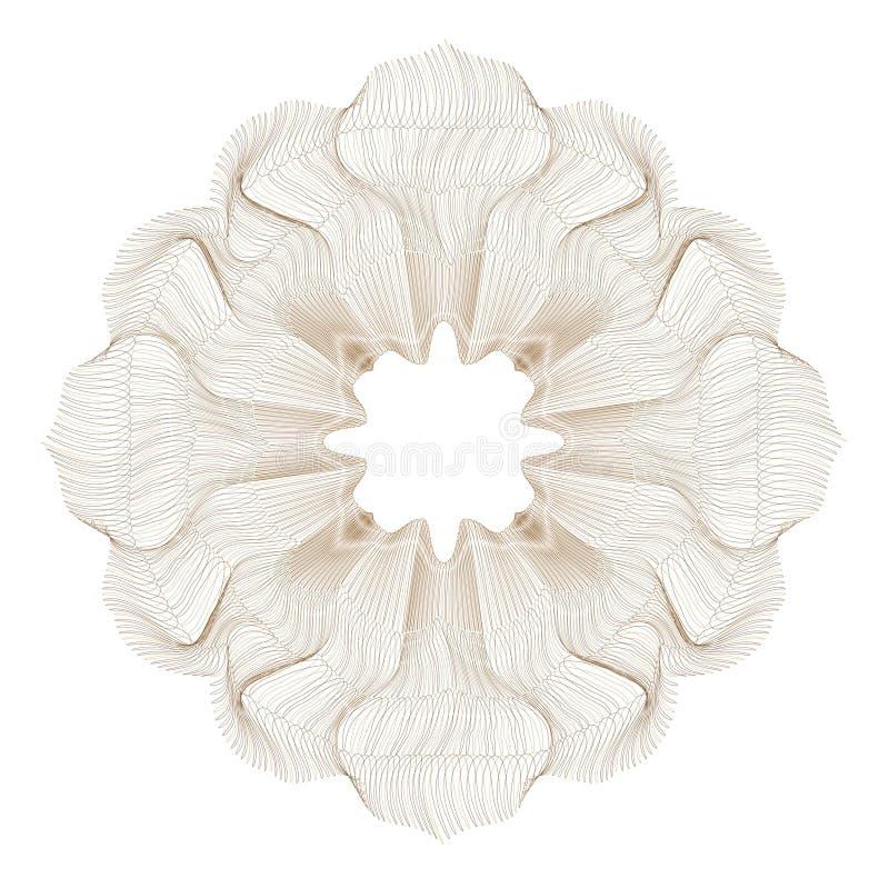 Elemento ornamental ilustración del vector