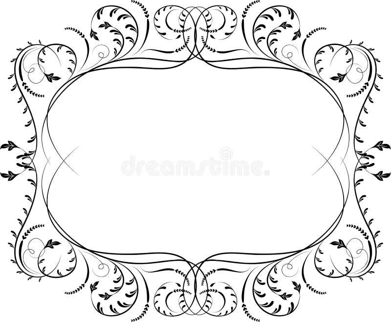 Elemento para o projeto, flor de canto, vetor ilustração stock