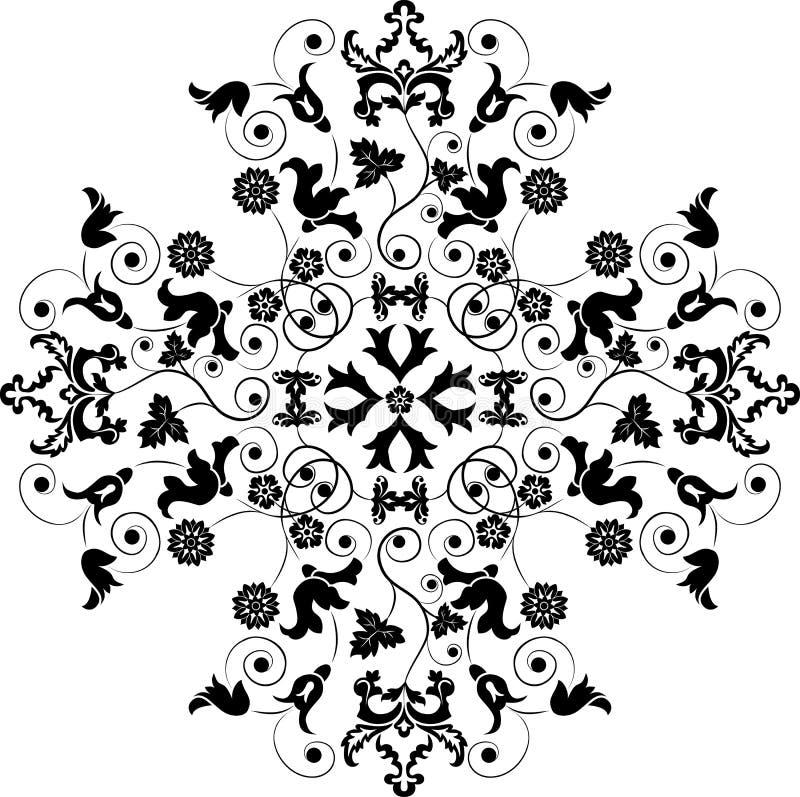 Elemento para o projeto, flor, vetor ilustração do vetor