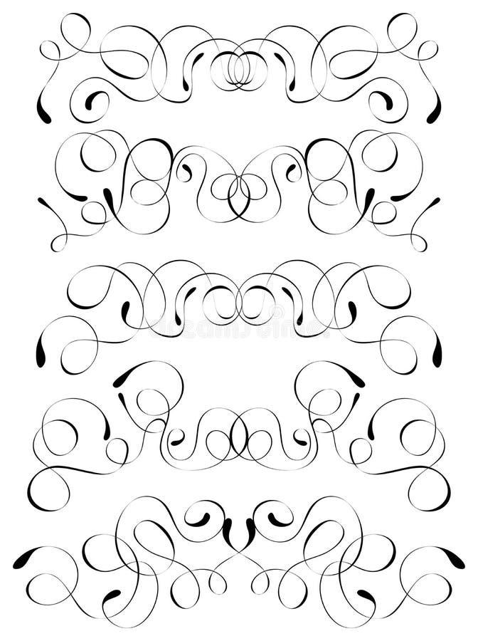 Elemento per il disegno, vettore illustrazione di stock
