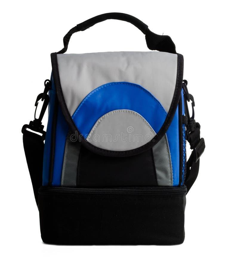 Elemento portante del pacchetto del pranzo con la maniglia fotografia stock libera da diritti