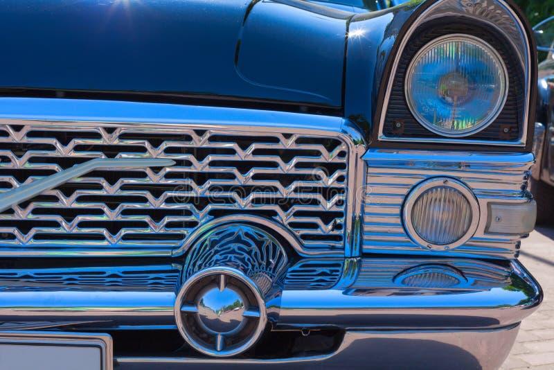 Elemento retro del coche imagen de archivo