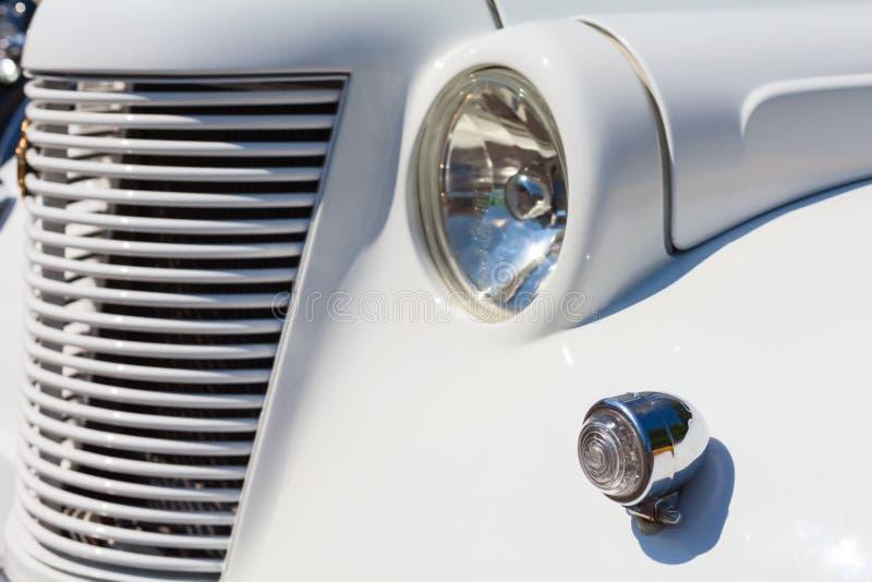 Elemento retro del coche imagenes de archivo