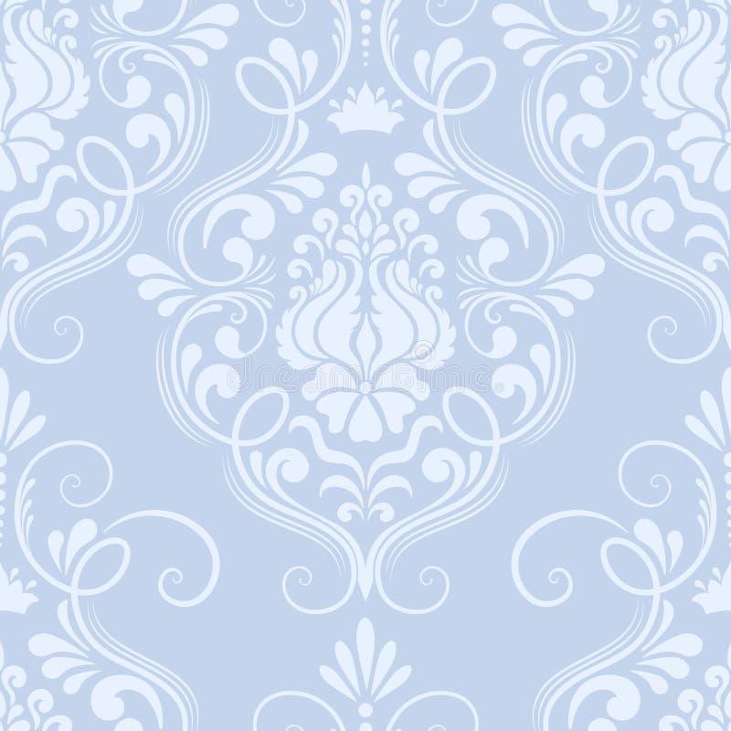 Elemento senza cuciture del modello del damasco di vettore. royalty illustrazione gratis