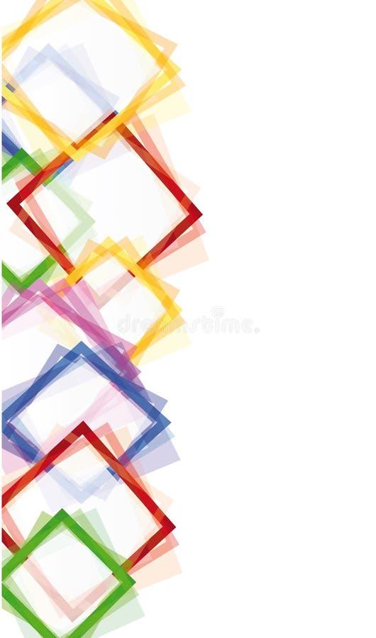 Elementos abstractos ilustración del vector