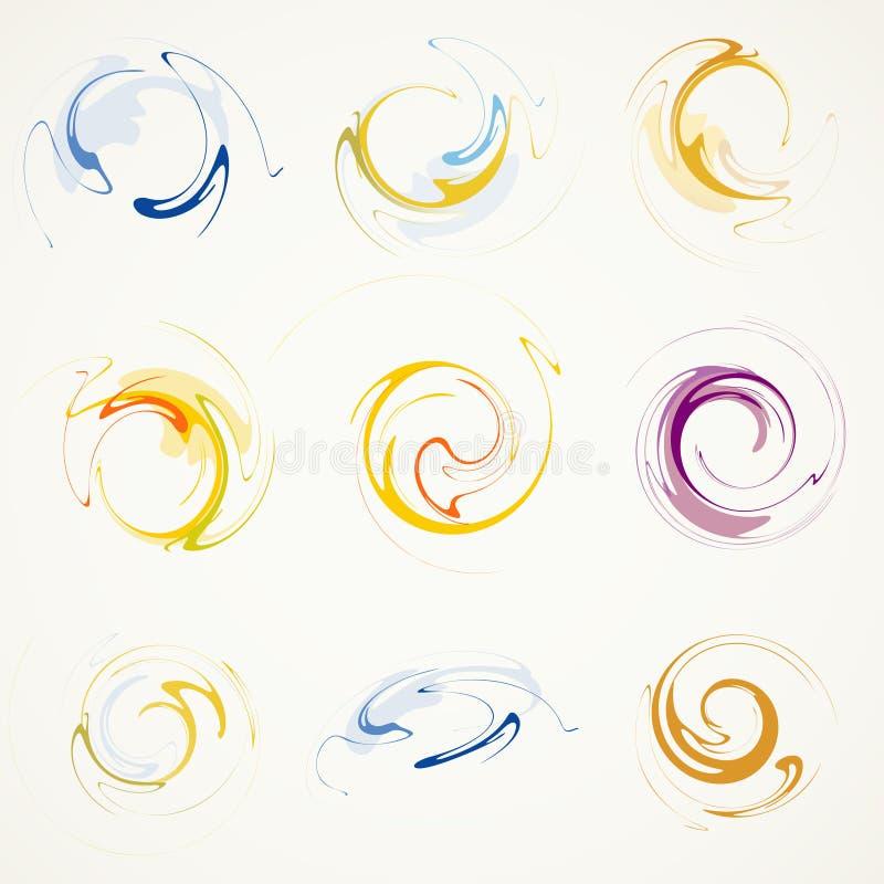 Elementos abstractos libre illustration