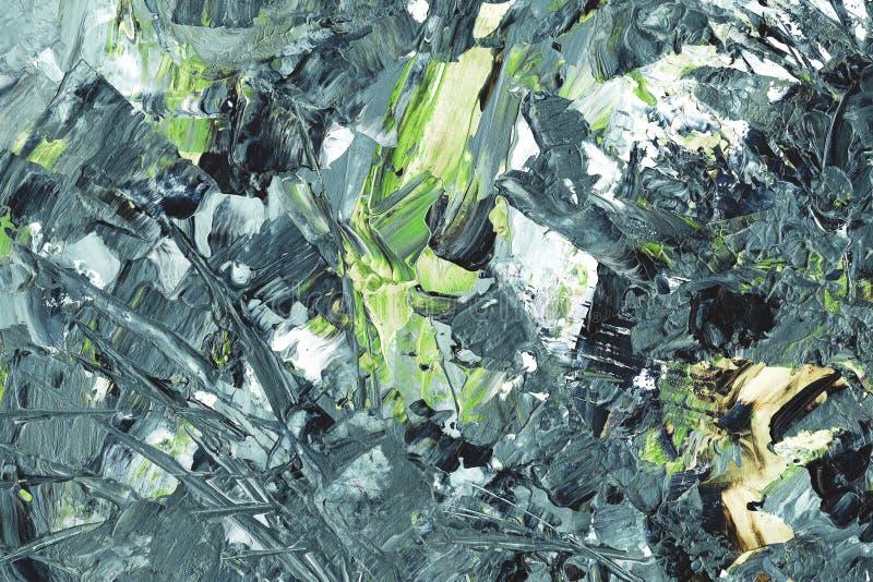 Elementos abstractos del fondo, grises y verdes fotografía de archivo libre de regalías