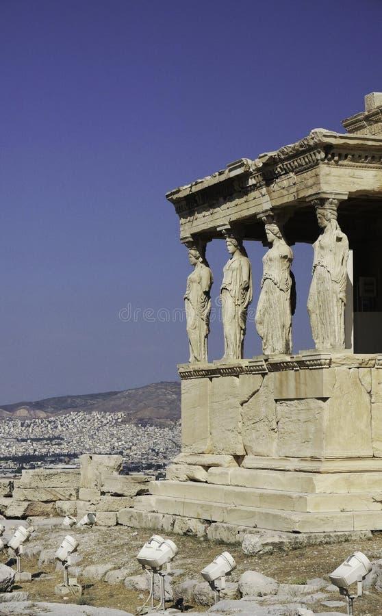 Elementos arquitectónicos griegos foto de archivo libre de regalías