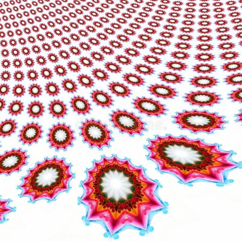 Elementos coloreados frescos ilustración del vector