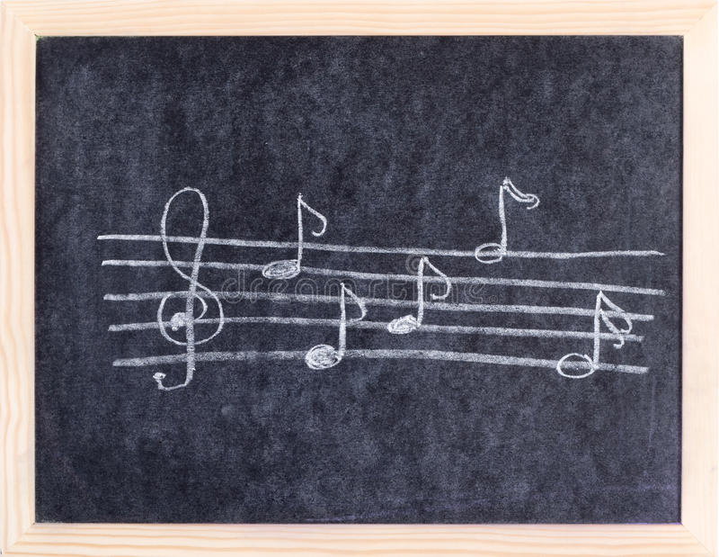 Elementos da música fotos de stock