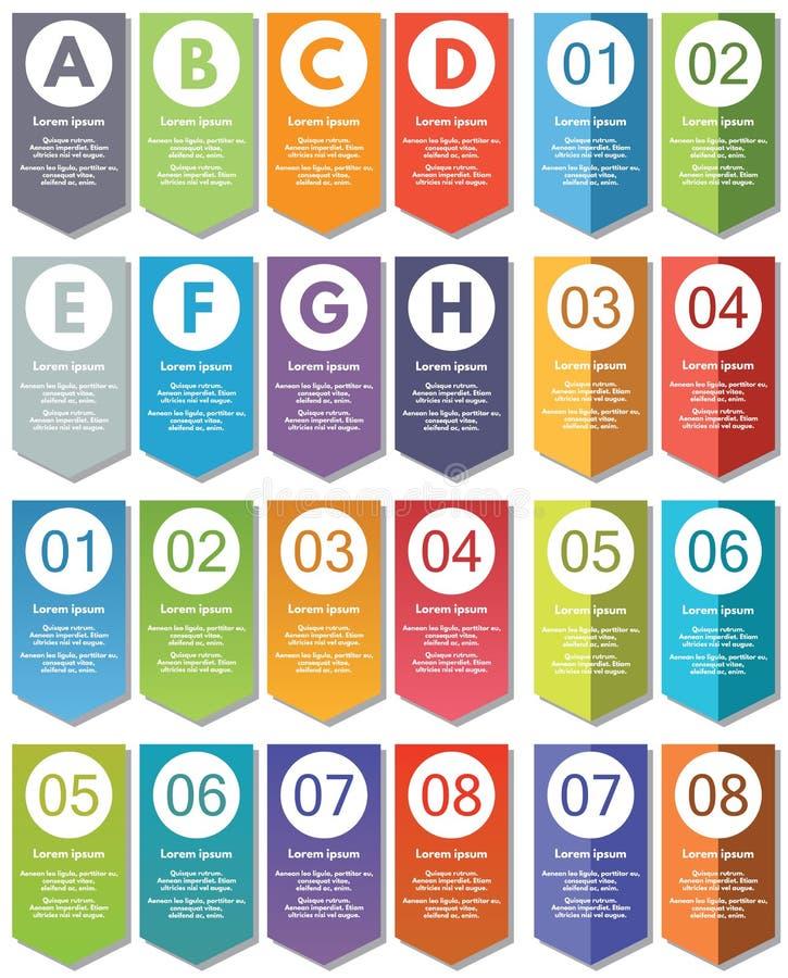 Elementos de Infographic #21 ilustración del vector