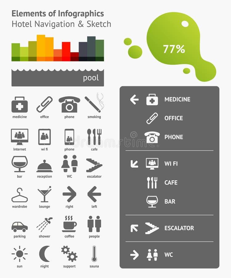 Elementos de Infographics libre illustration