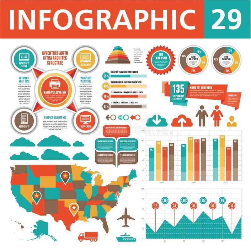 Elementos 29 de Infographics