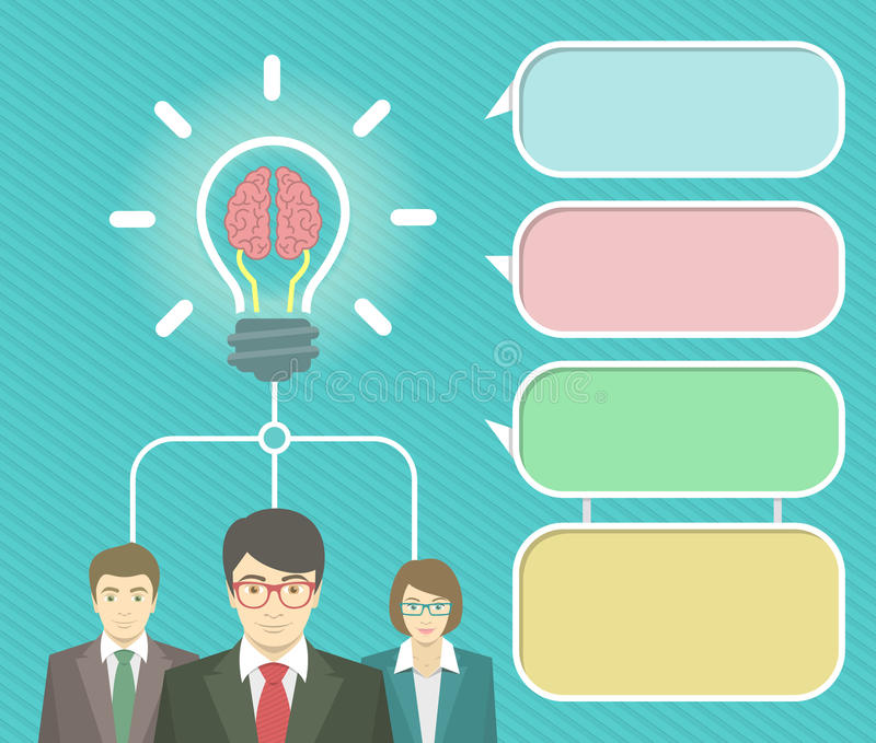 Elementos de Infographics de la idea del negocio libre illustration