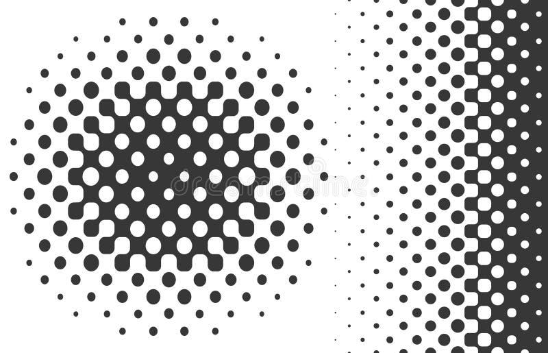 Elementos de intervalo mínimo do projeto ilustração do vetor