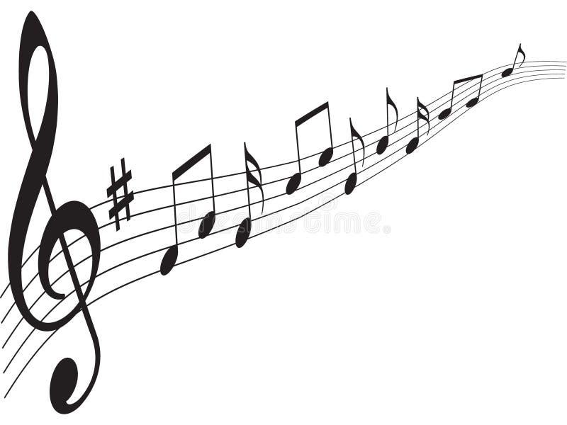 Elementos de la música foto de archivo