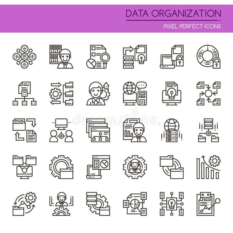 Elementos de la organización de datos libre illustration