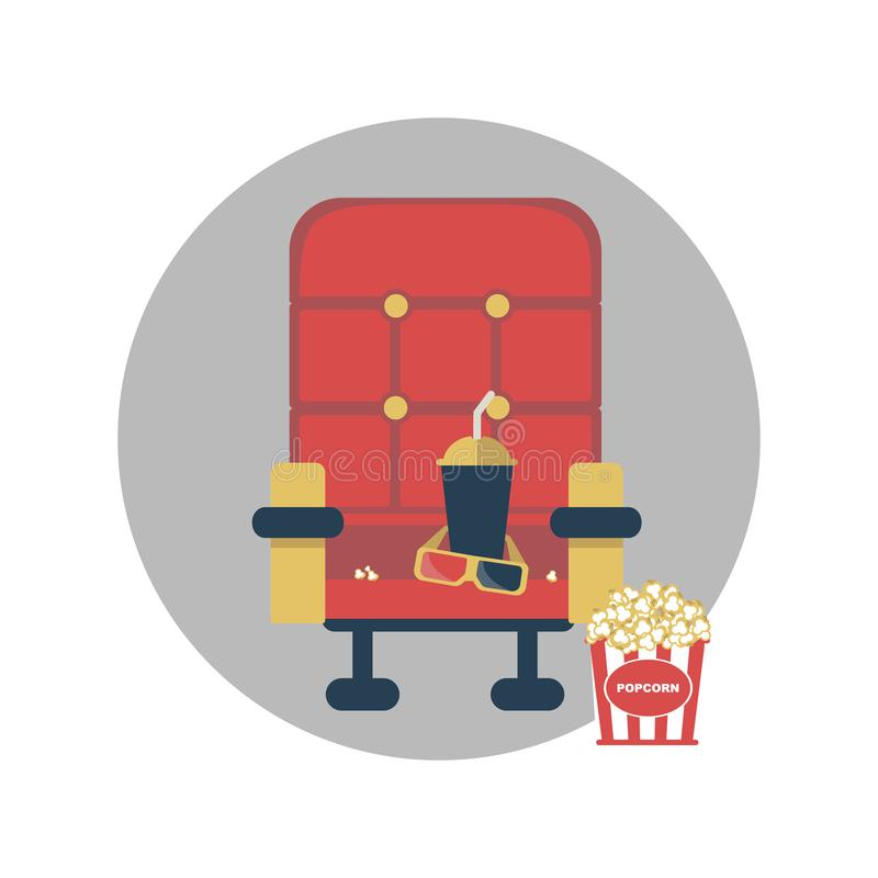 Elementos de la película de la composición para el diseño libre illustration