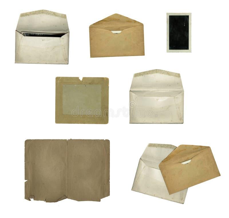 Elementos de papel imagen de archivo libre de regalías