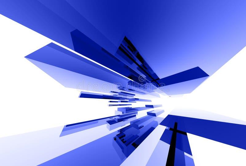 Elementos de vidro abstratos 031