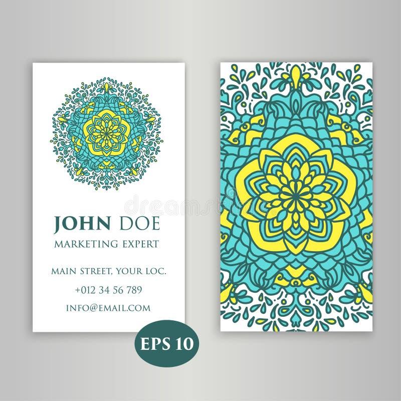 Elementos decorativos do vintage Estilo corporativo, ilustração do vetor Floral decorativo Teste padrão oriental, ilustração Islã ilustração do vetor
