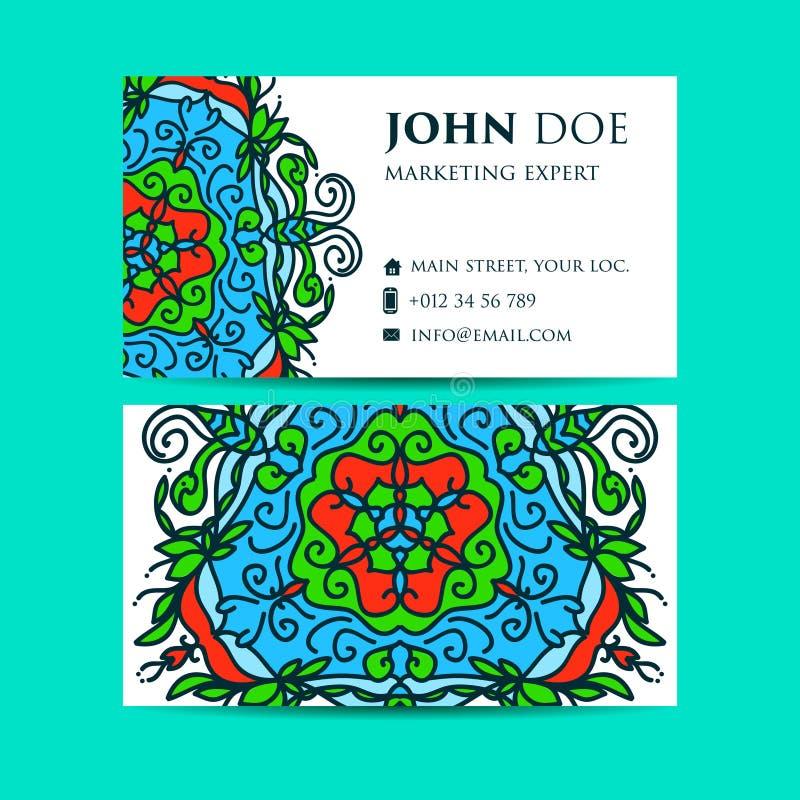 Elementos decorativos do vintage Estilo corporativo, ilustração do vetor Floral decorativo Teste padrão oriental, ilustração Islã ilustração stock