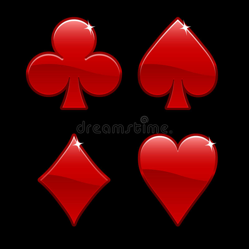 Elementos del casino libre illustration