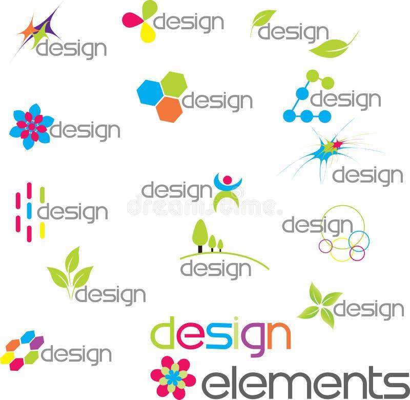 Elementos del diseño foto de archivo libre de regalías