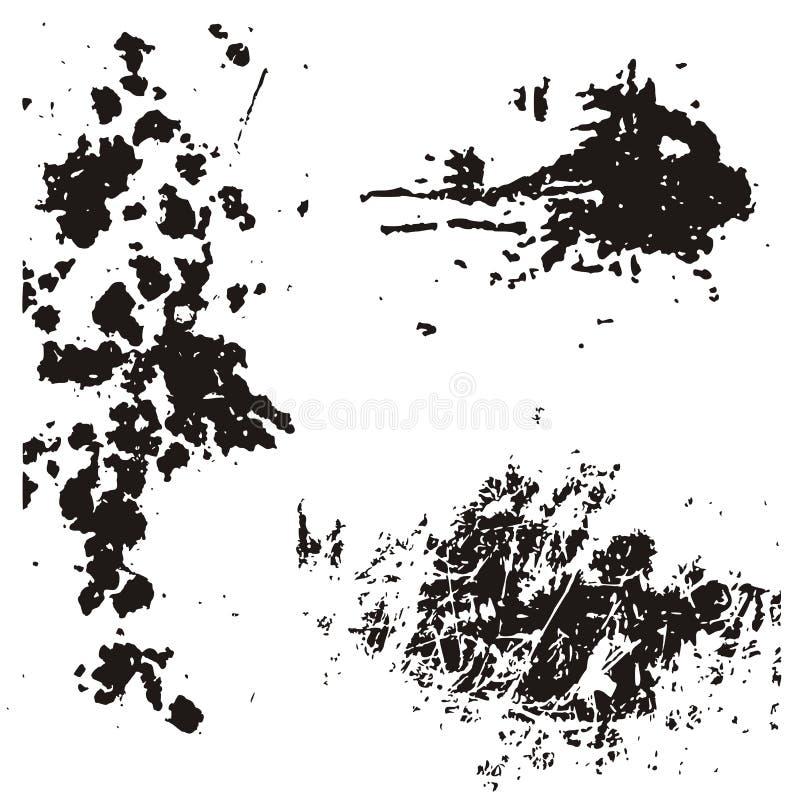 Elementos del diseño de Grunge libre illustration