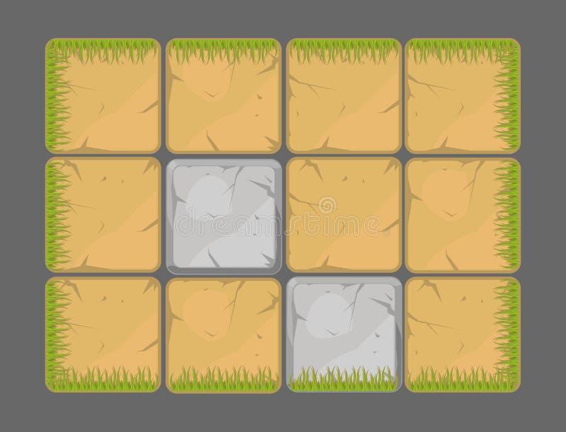 Elementos del diseño del fondo natural del vector libre illustration