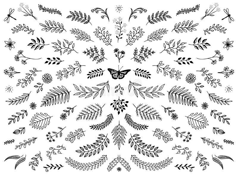Elementos del diseño gráfico ilustración del vector