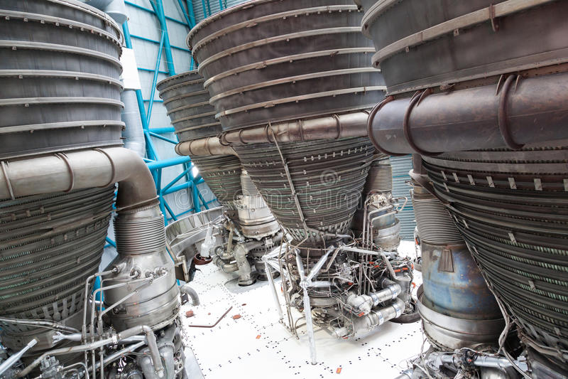 Elementos del motor de jet imagen de archivo