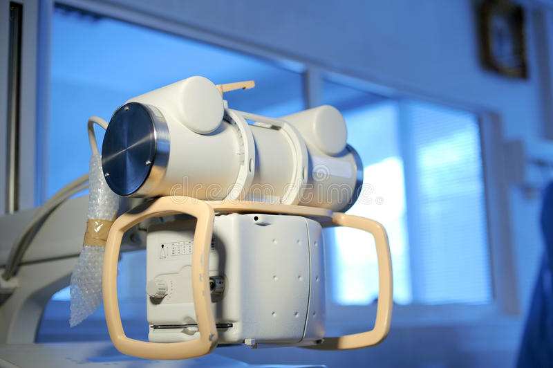 Elementos do equipamento médico na clínica de maternidade fotografia de stock